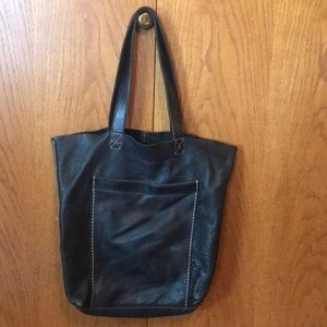 Lucky brand vintage leather bag 💥